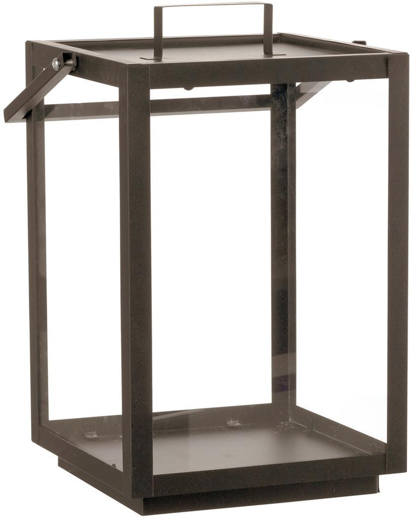 Lantaarn Laluna, Frame: gecoat metaal, Bruin, 23 x 33 cm