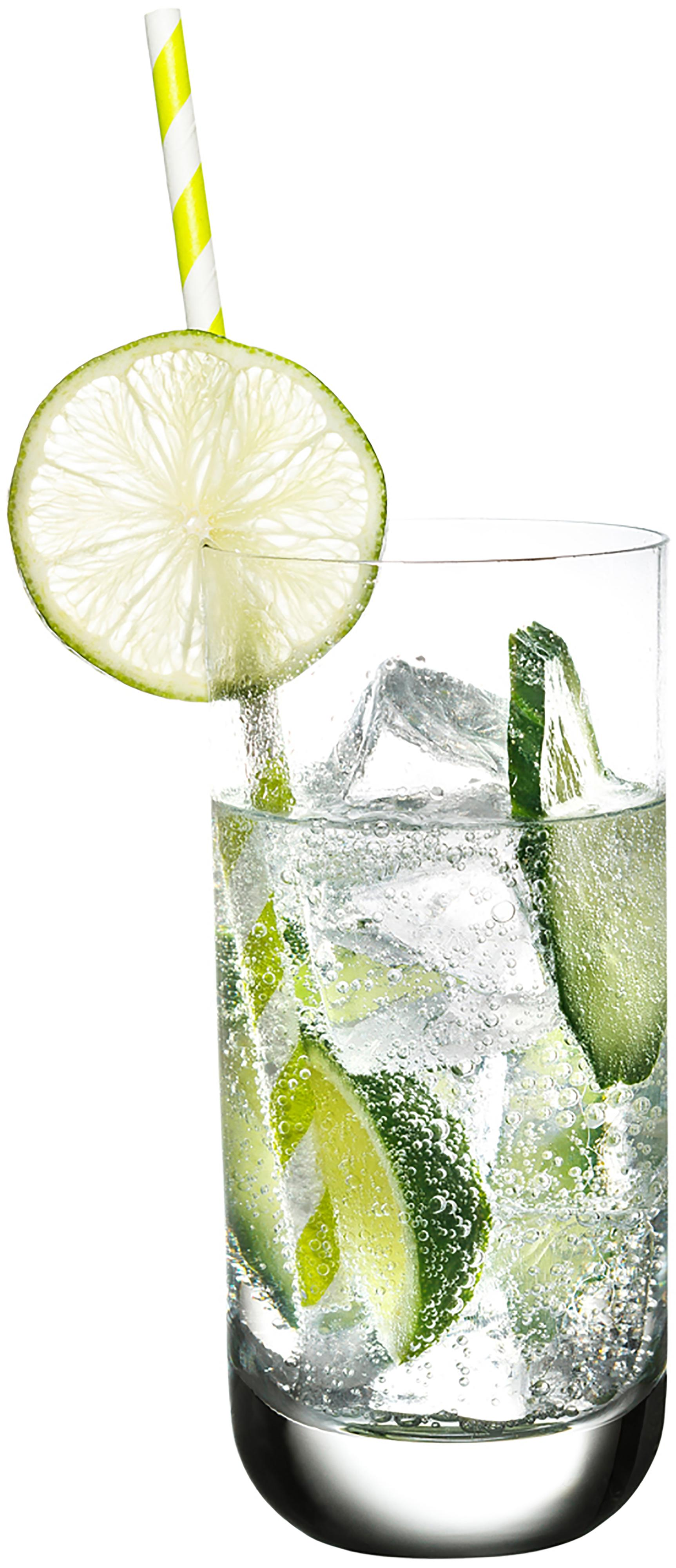 Verres à long drink en cristal Harmony, 6pièces, Transparent