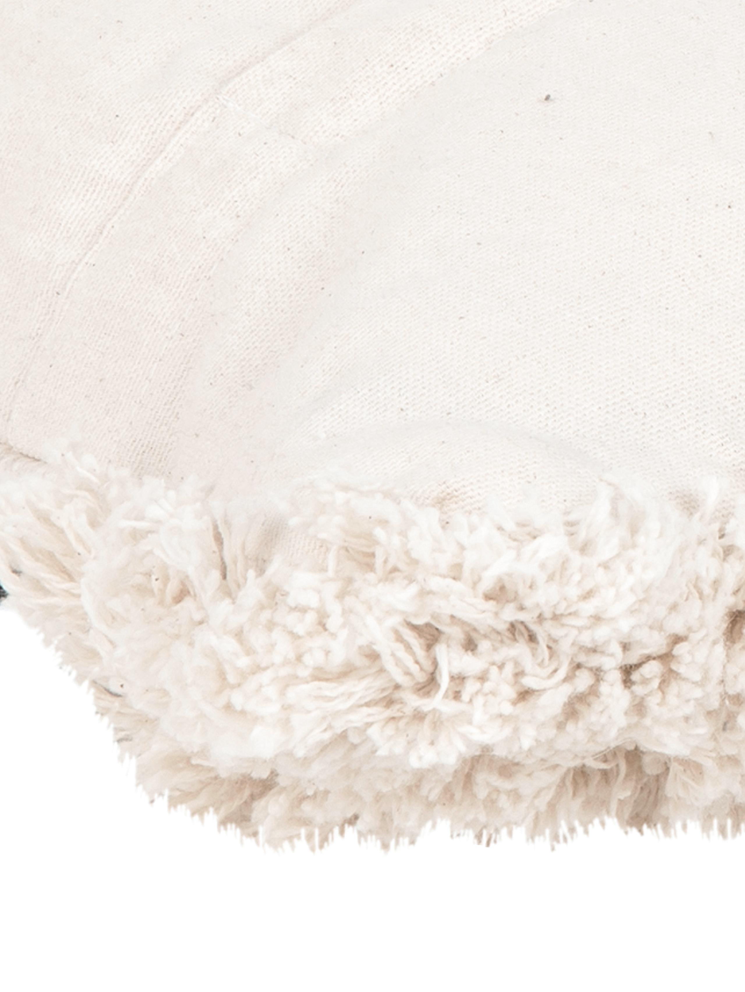 Federa arredo boho Taima, Cotone, Beige, nero, Larg. 30 x Lung. 50 cm