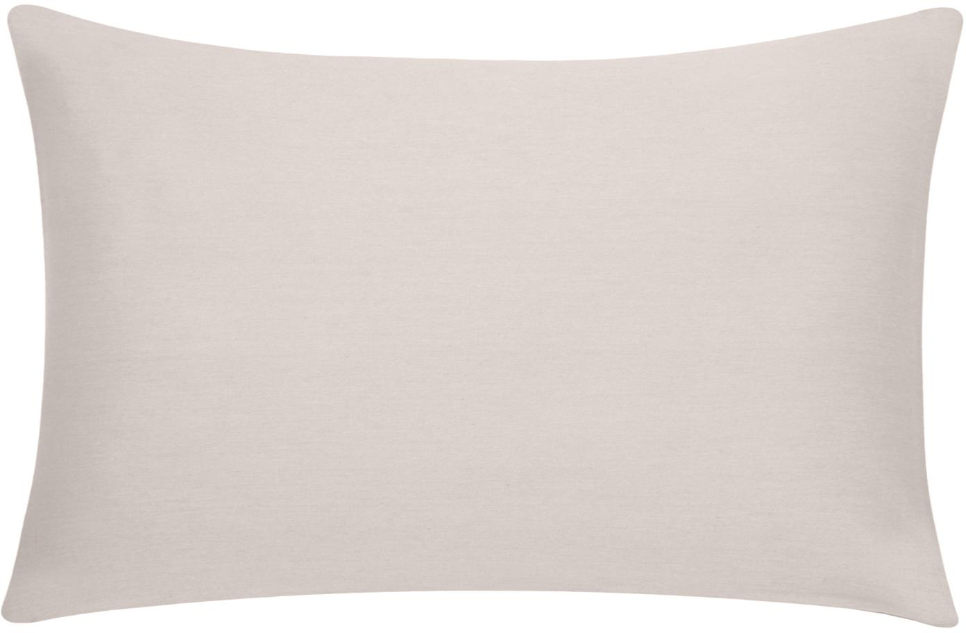 Baumwoll-Kissenhülle Mads in Beige, 100% Baumwolle, Beige, 30 x 50 cm