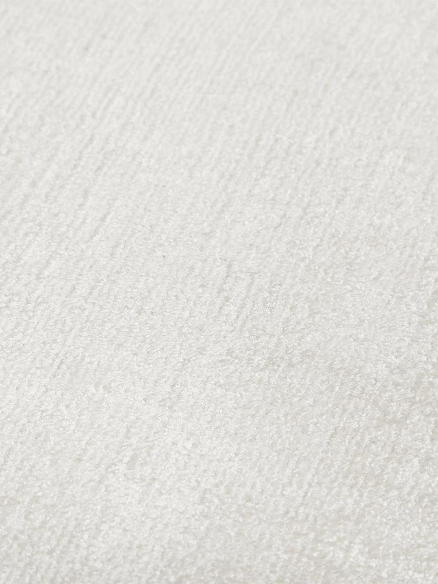 Handgewebter Viskoseteppich Jane in Elfenbeinfarben, Flor: 100% Viskose, Elfenbeinfarben, B 90 x L 150 cm (Grösse XS)