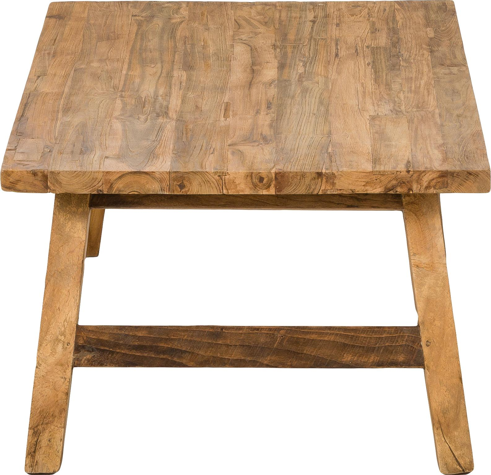 Mesa de centro de teca Lawas, Madera de teca natural, Teca, An 120 x F 70 cm