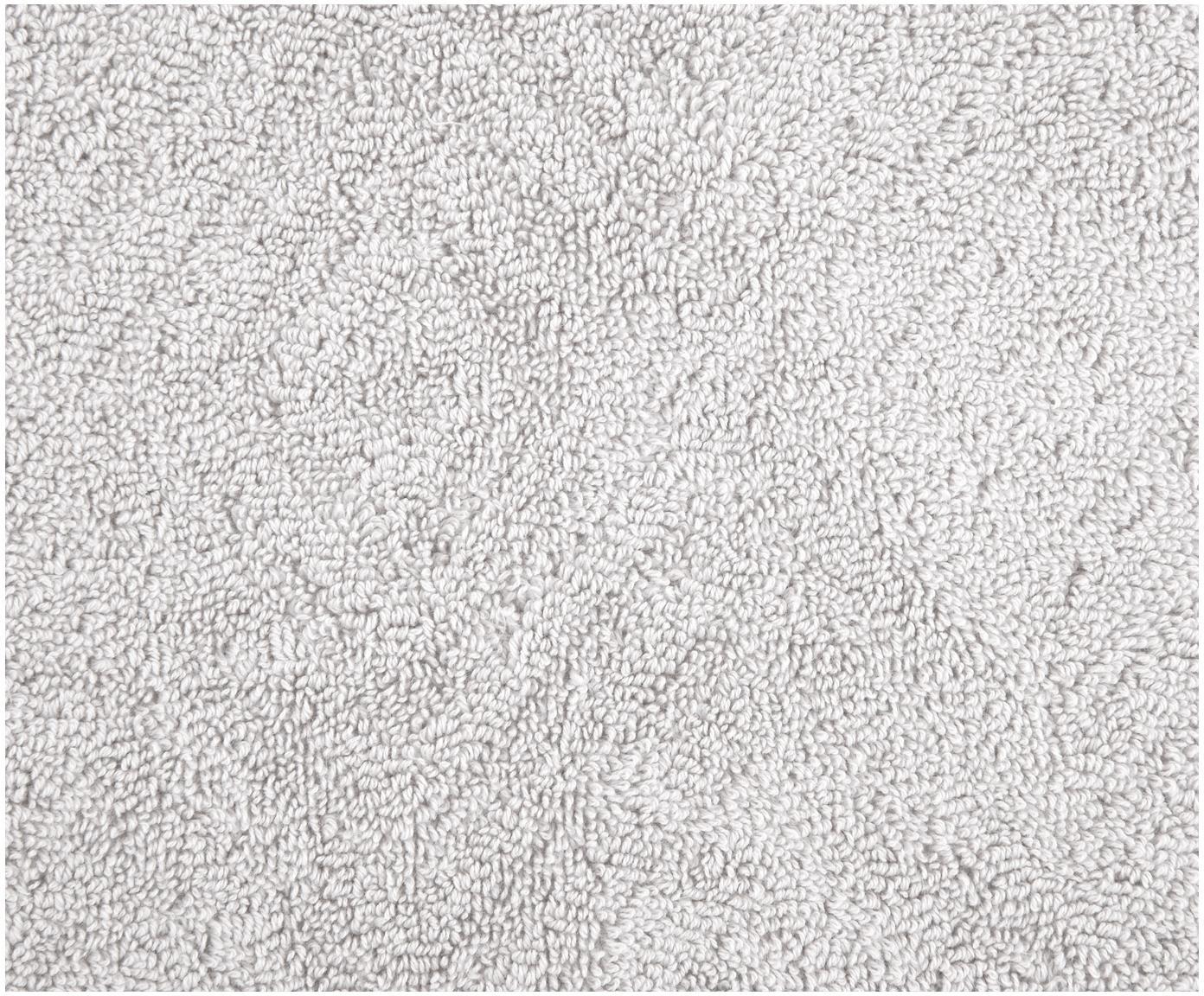 Handdoekenset Jacqui, 3-delig, 100% katoen, middelzware kwaliteit, 490 g/m², Lichtgrijs, Verschillende formaten