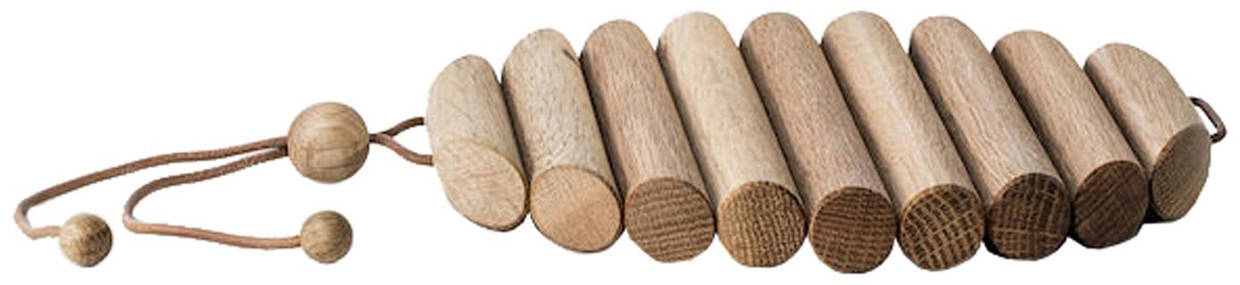 Sottopentola in legno di quercia Daniel, Legno di quercia, Legno di quercia, Larg. 19 x Alt. 3 cm