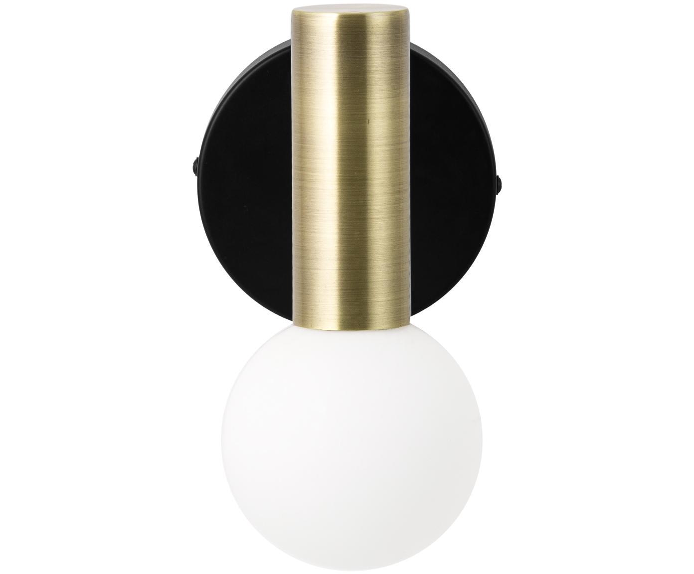Applique Wilson, Noir, couleur dorée