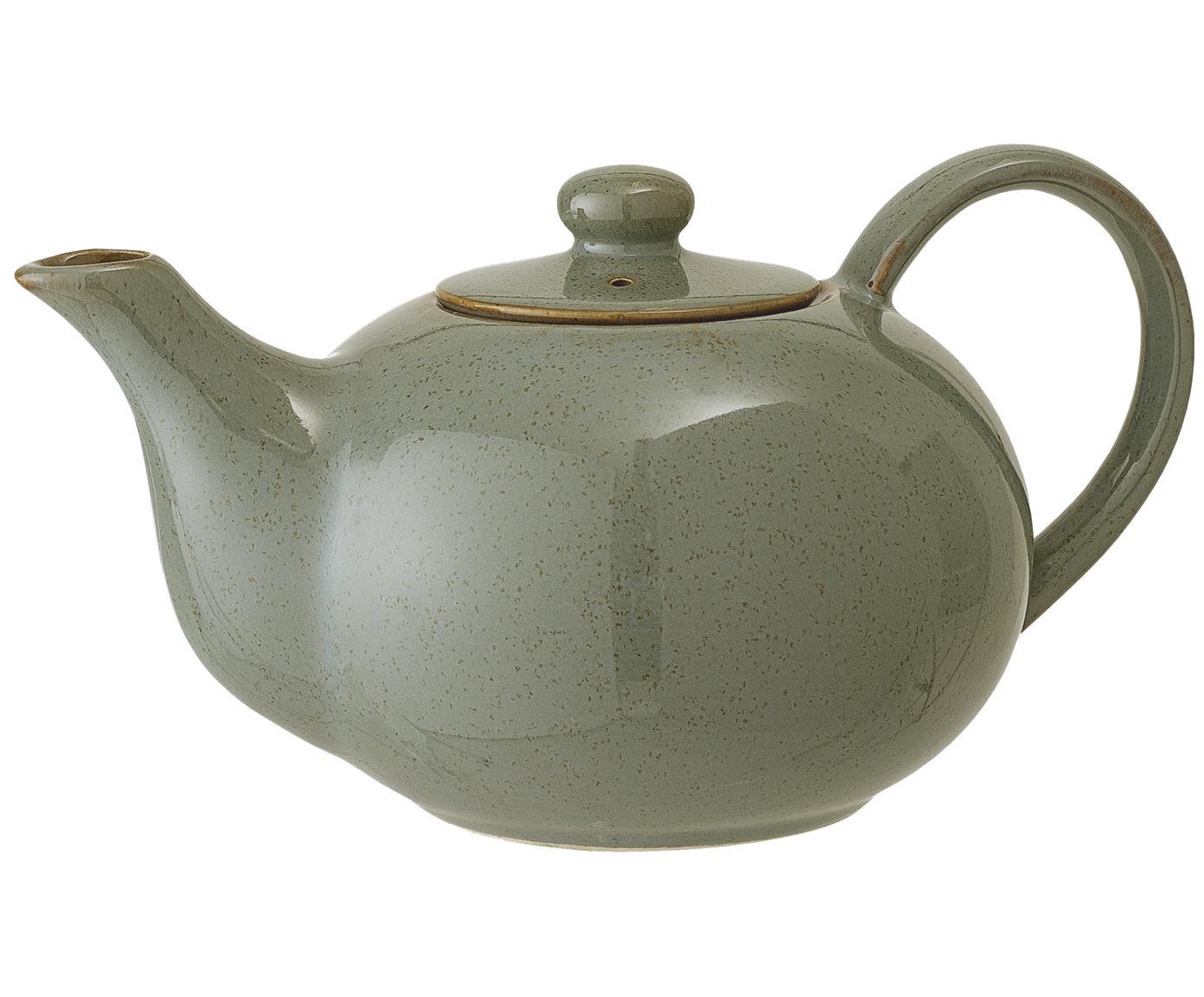 XS-Teekanne Pixie, Steingut, Grüntöne, 820 ml