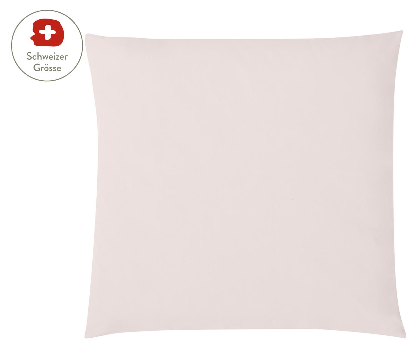 Baumwollperkal-Kissenbezug Elsie in Rosa, Webart: Perkal Fadendichte 200 TC, Rosa, 65 x 65 cm