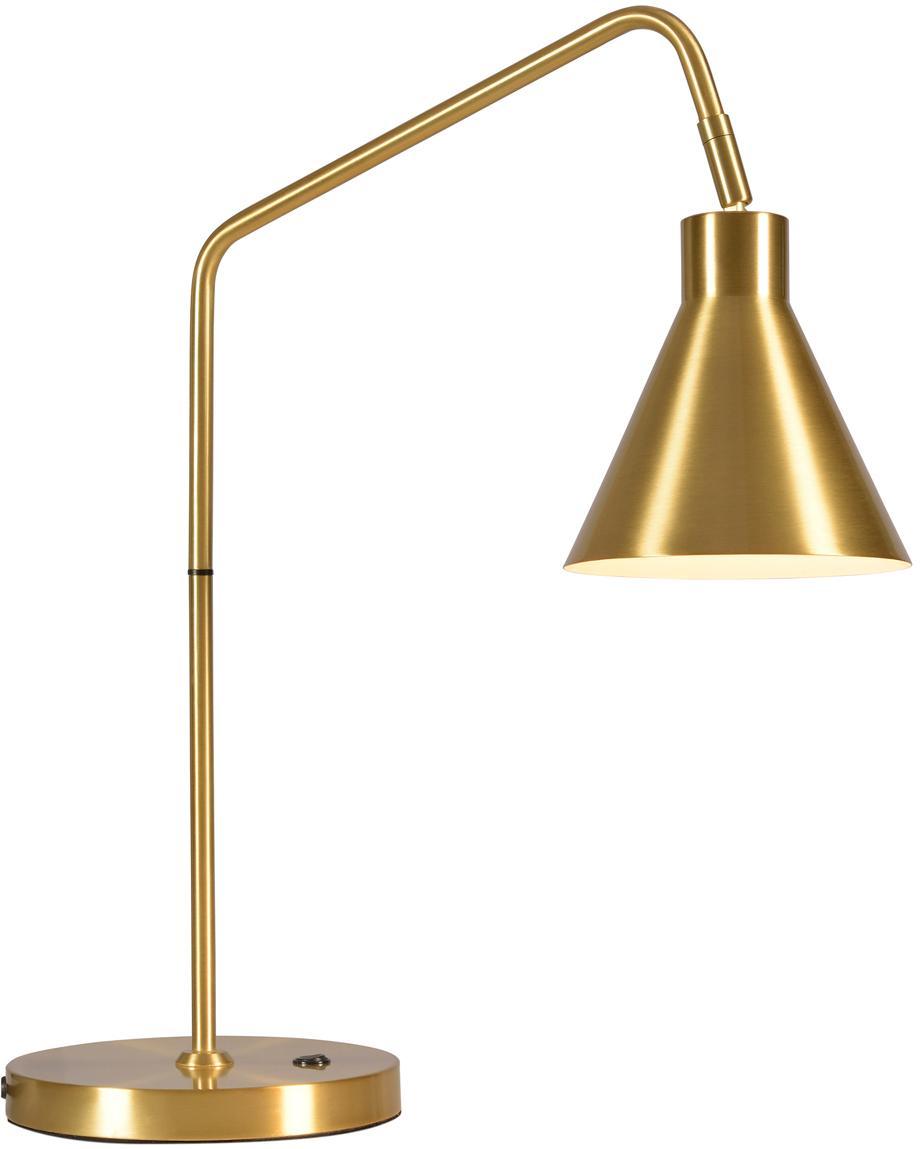 Bureaulamp Lyon in goudkleur, Goudkleurig, 55 x 54 cm