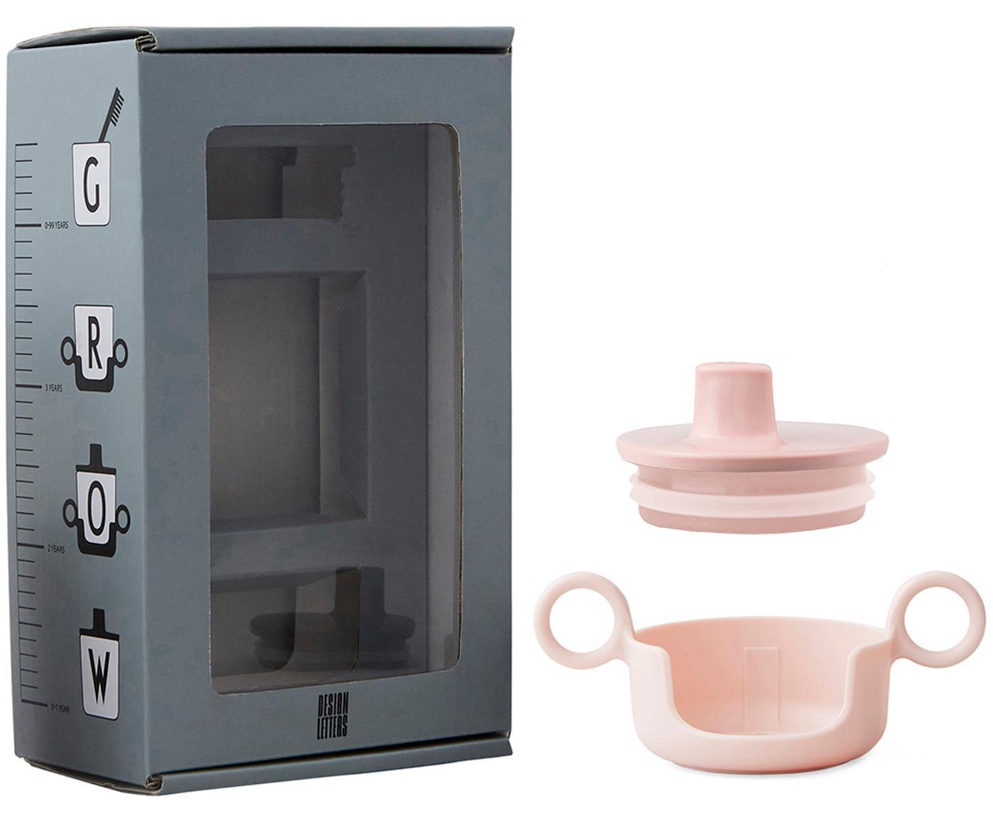 Komplet do picia Grow With Your Cup, 2 elem., Melamina, Blady różowy, S 14 x W 8 cm
