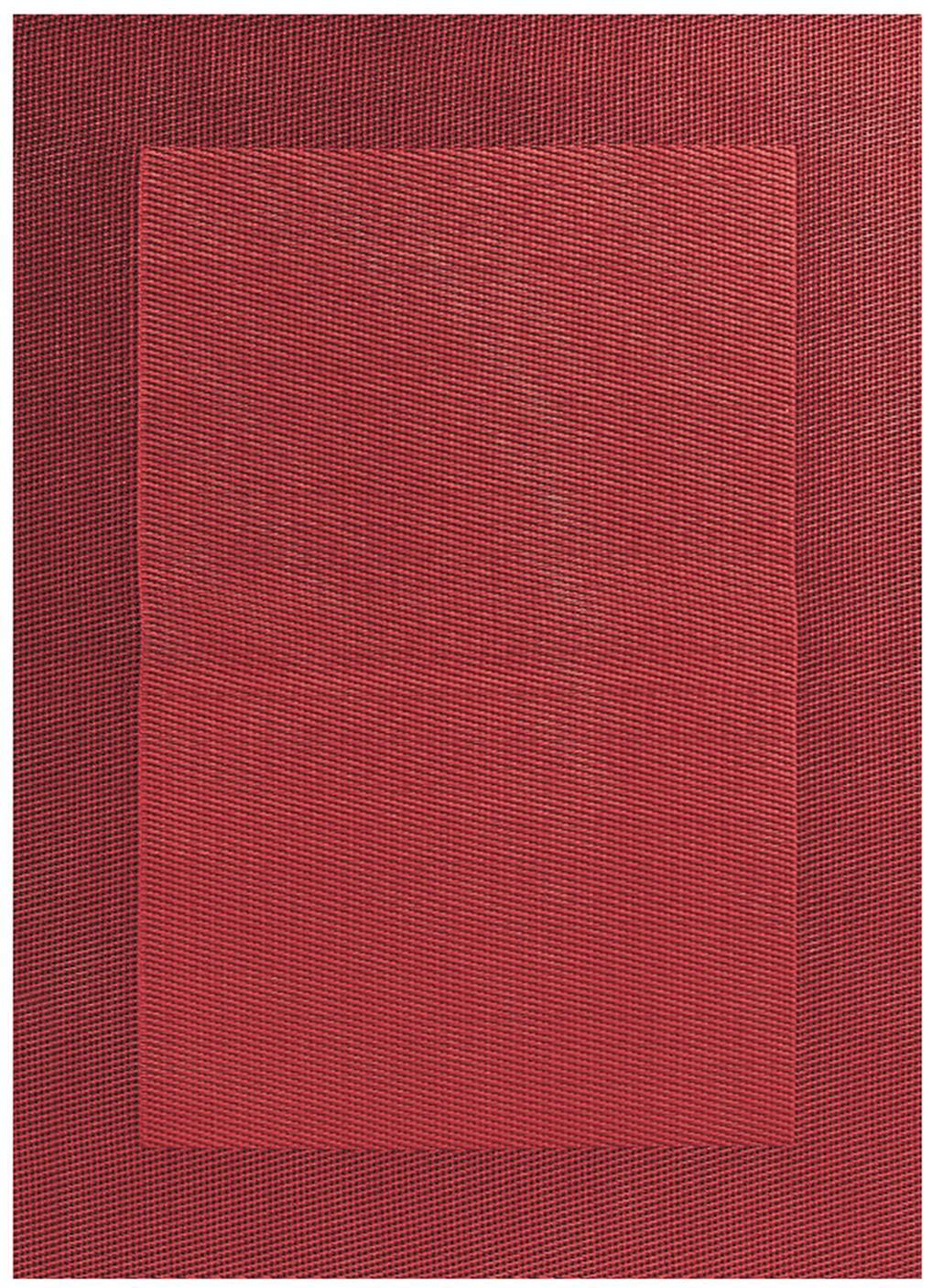 Tovaglietta americana in materiale sintetico Trefl 2 pz, Materiale sintetico (PVC), Rosso, Larg. 33 x Lung. 46 cm