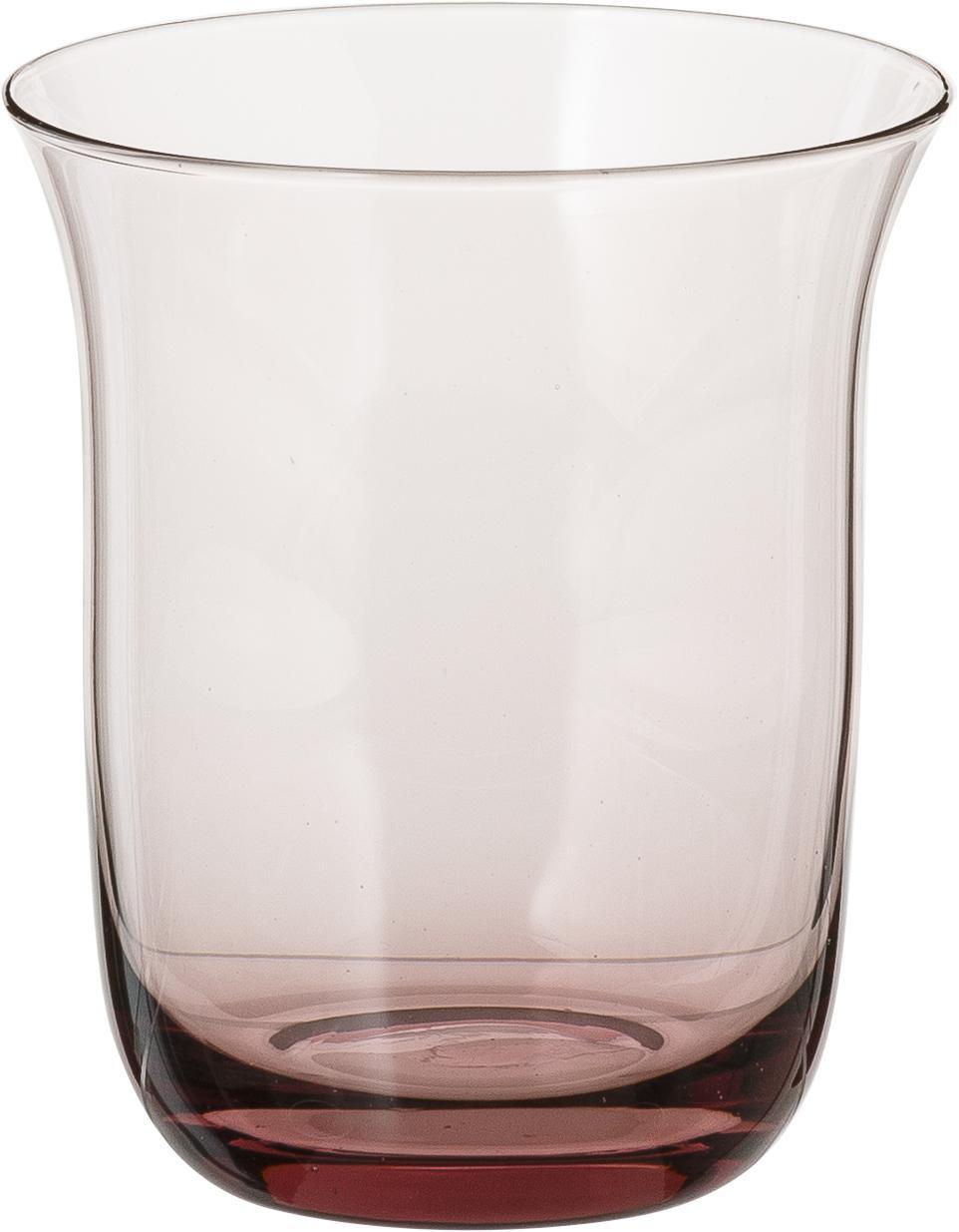 Ensemble de verres à eau soufflés bouche Desigual, 6élém., Multicolore