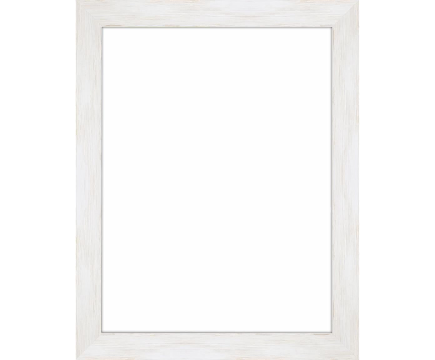 Fotolijstje Magic, Lijst: gelakt Monterey-grenenhou, Wit, 18 x 24 cm