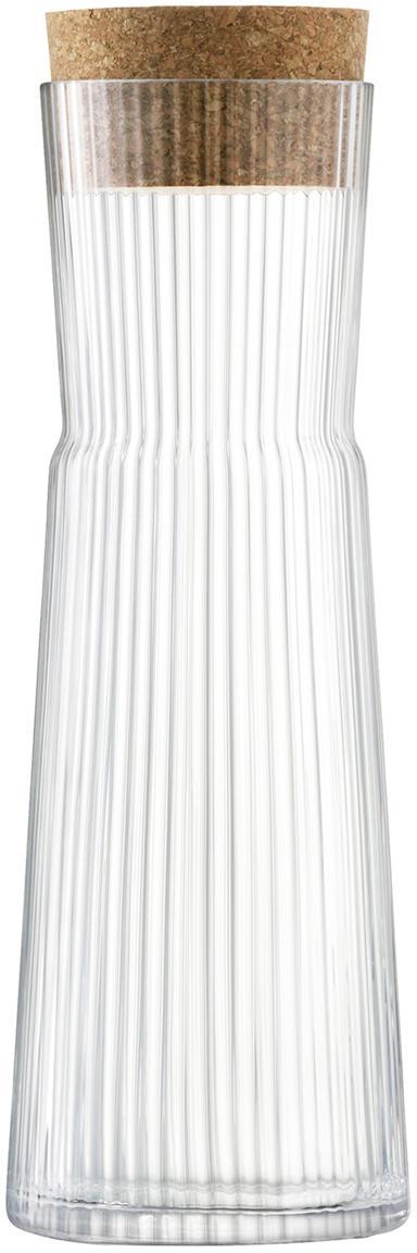 Caraffa Gio Line, Trasparente, sughero, Ø 10 x Alt. 30 cm