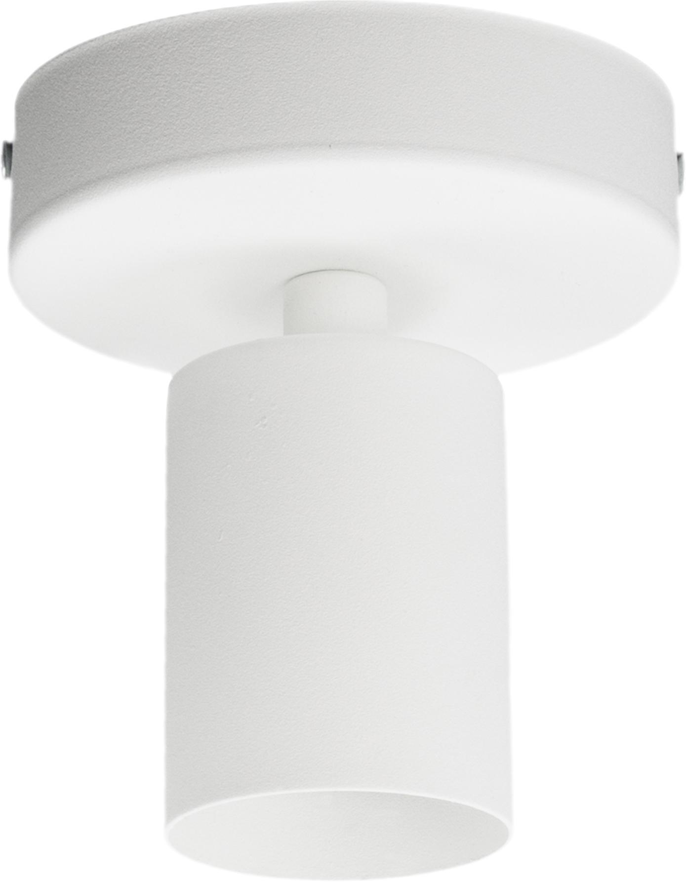 Deckenleuchte Cero ohne Leuchtmittel, Weiß, Ø 10 x H 12 cm