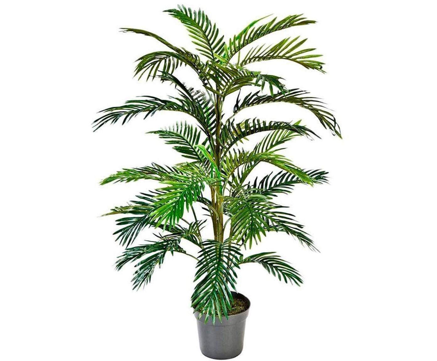Planta artificial Areca, Poliéster, Verde, Ø 40 x Al 90 cm