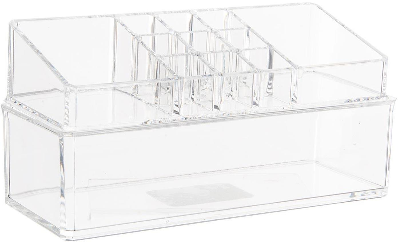 Organizador Senetano, Acrílico, Transparente, An 23 x Al 11 cm