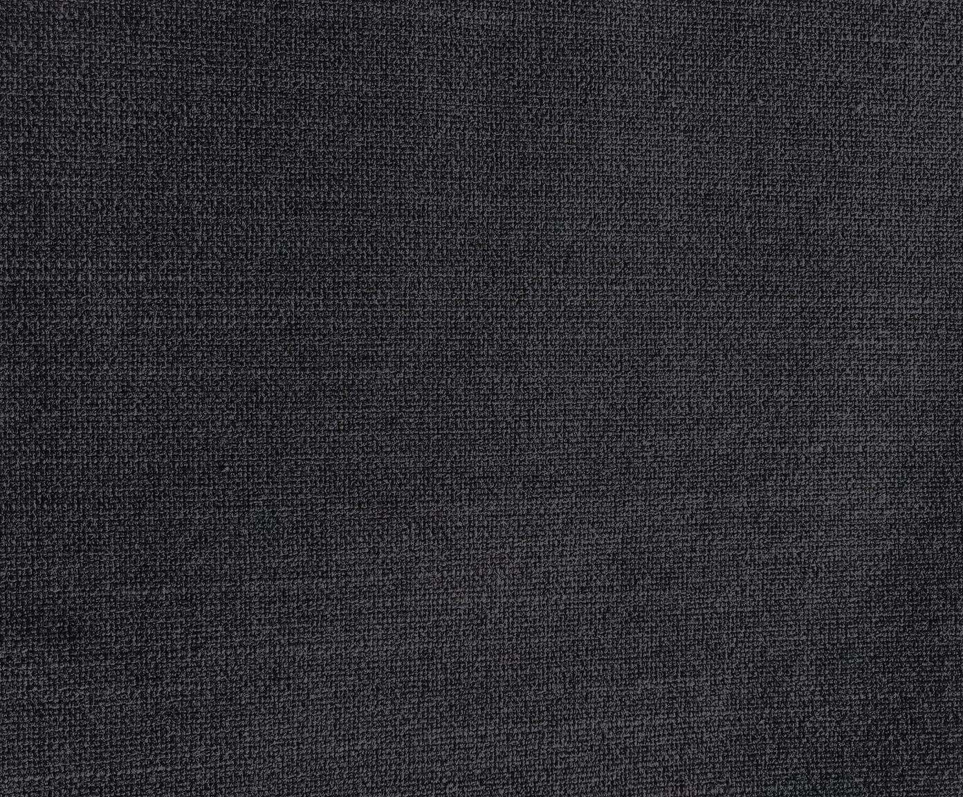 Sofa Moby (3-osobowa), Tapicerka: poliester 60000 cykli w , Tapicerka: pianka na zawieszeniu spr, Stelaż: lite drewno sosnowe, Nogi: metal malowany proszkowo, Ciemnyszary, S 220 x G 95 cm