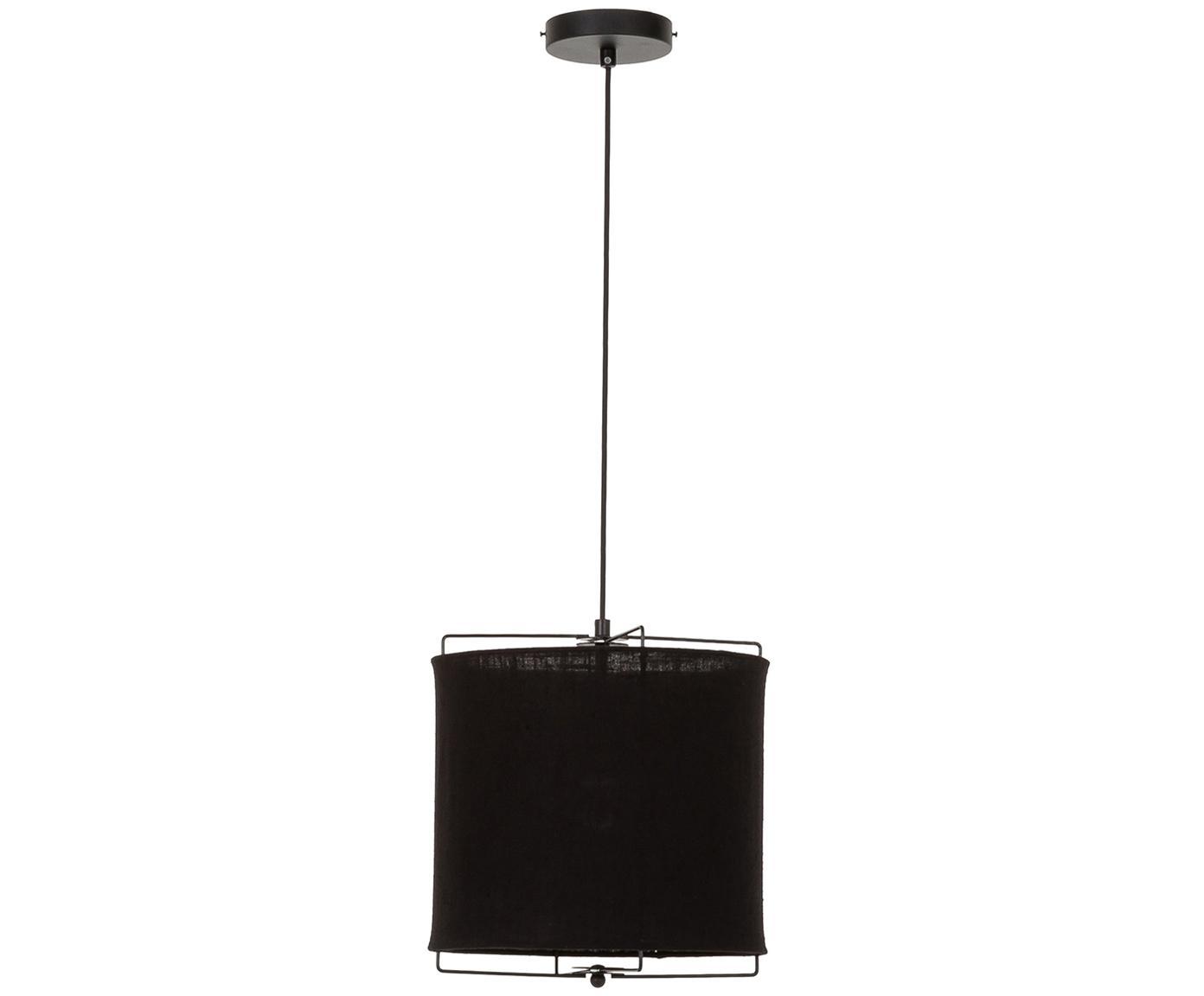 Lampa wisząca Clouds, Czarny, Ø 30 x W 30 cm