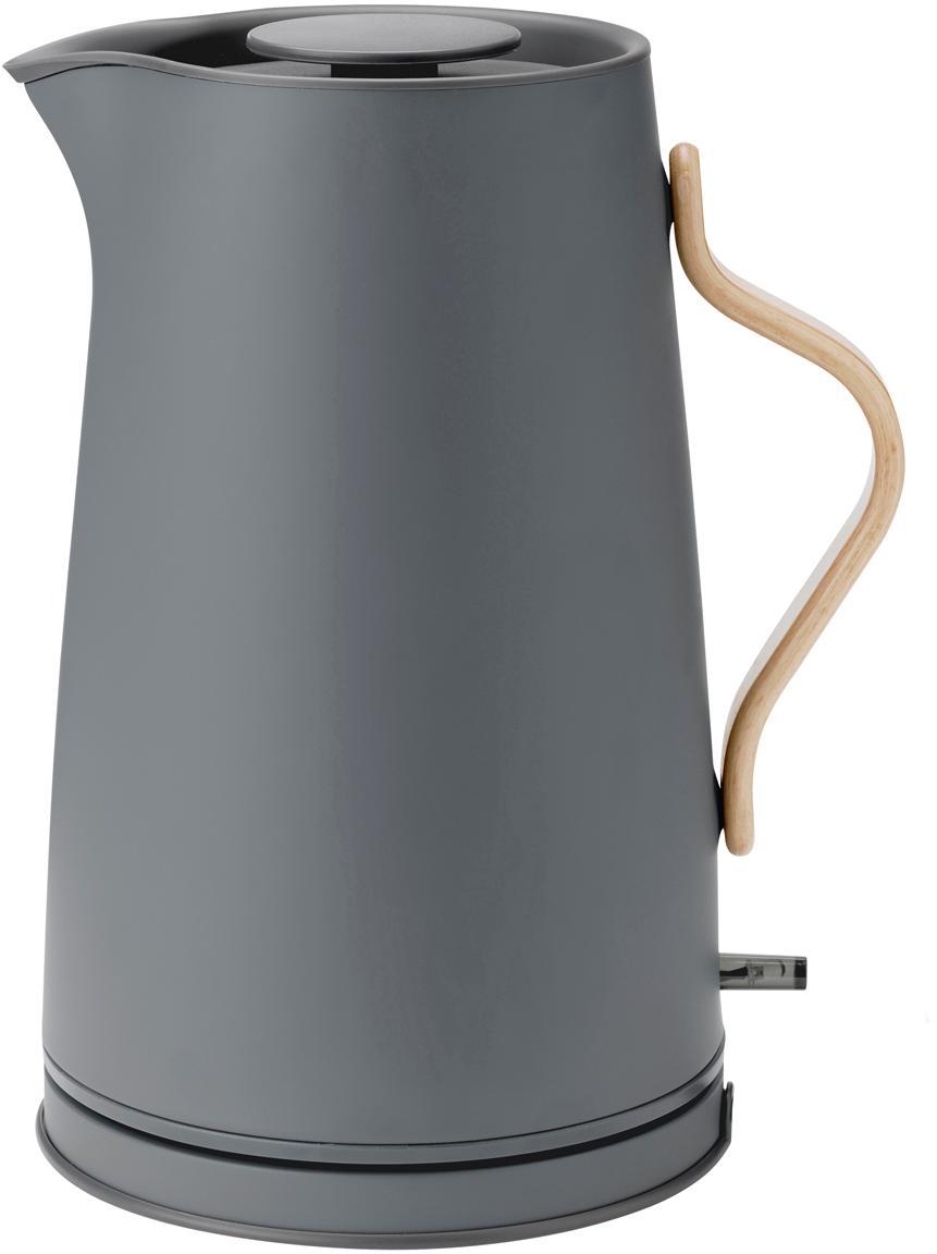 Waterkoker Emma in grijs mat, speciale editie, Frame: edelstaal, Mat grijs, 1.2 L