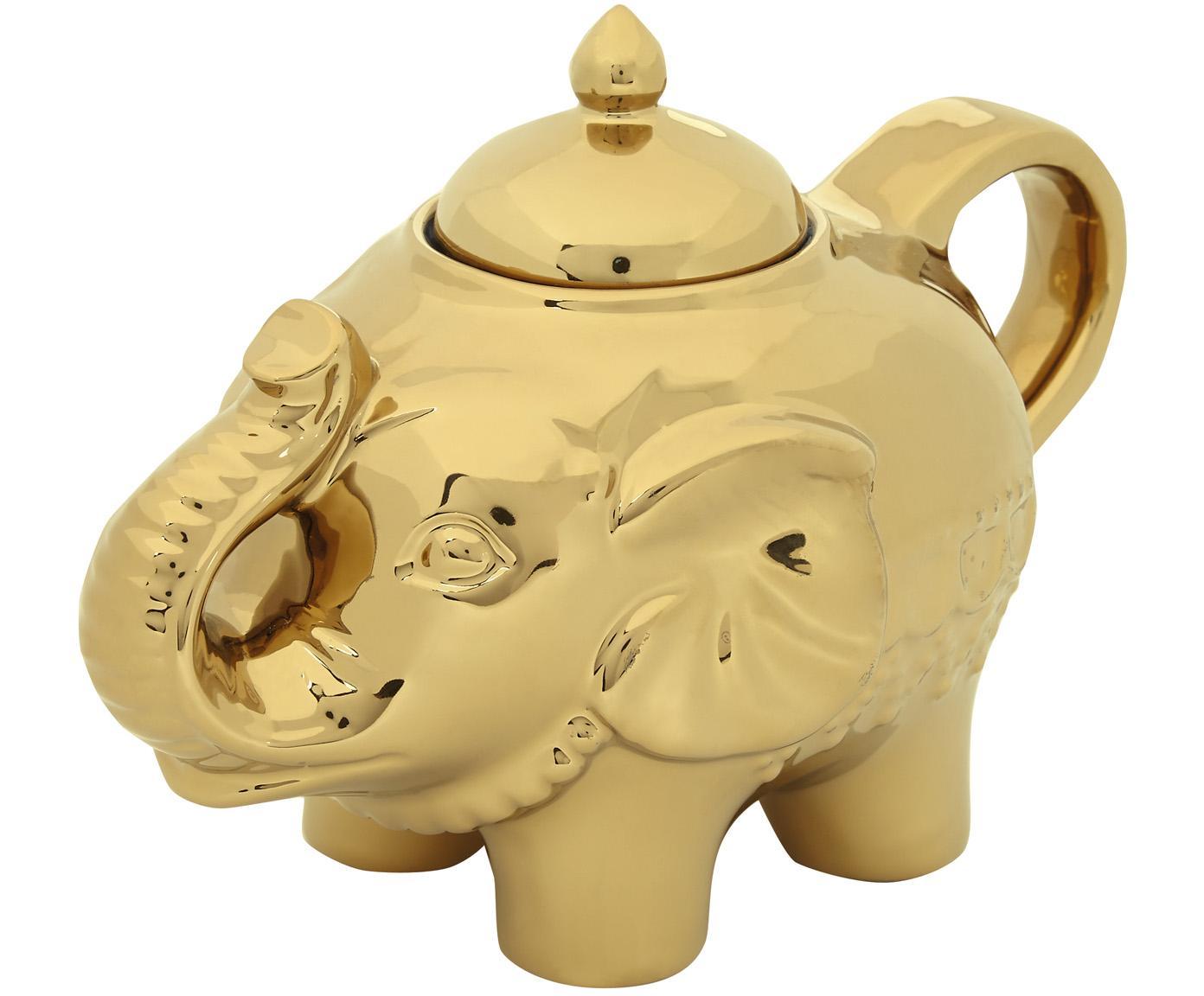 Cukiernica Elephant, Złoty, 15 x 12 cm