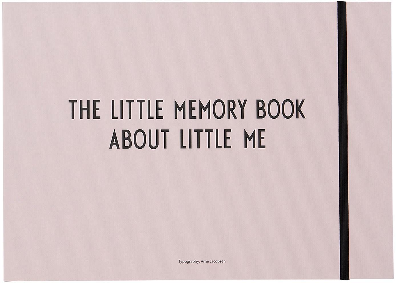 Babyboek Little Memory Book, Papier, Roze, 21 x 30 cm