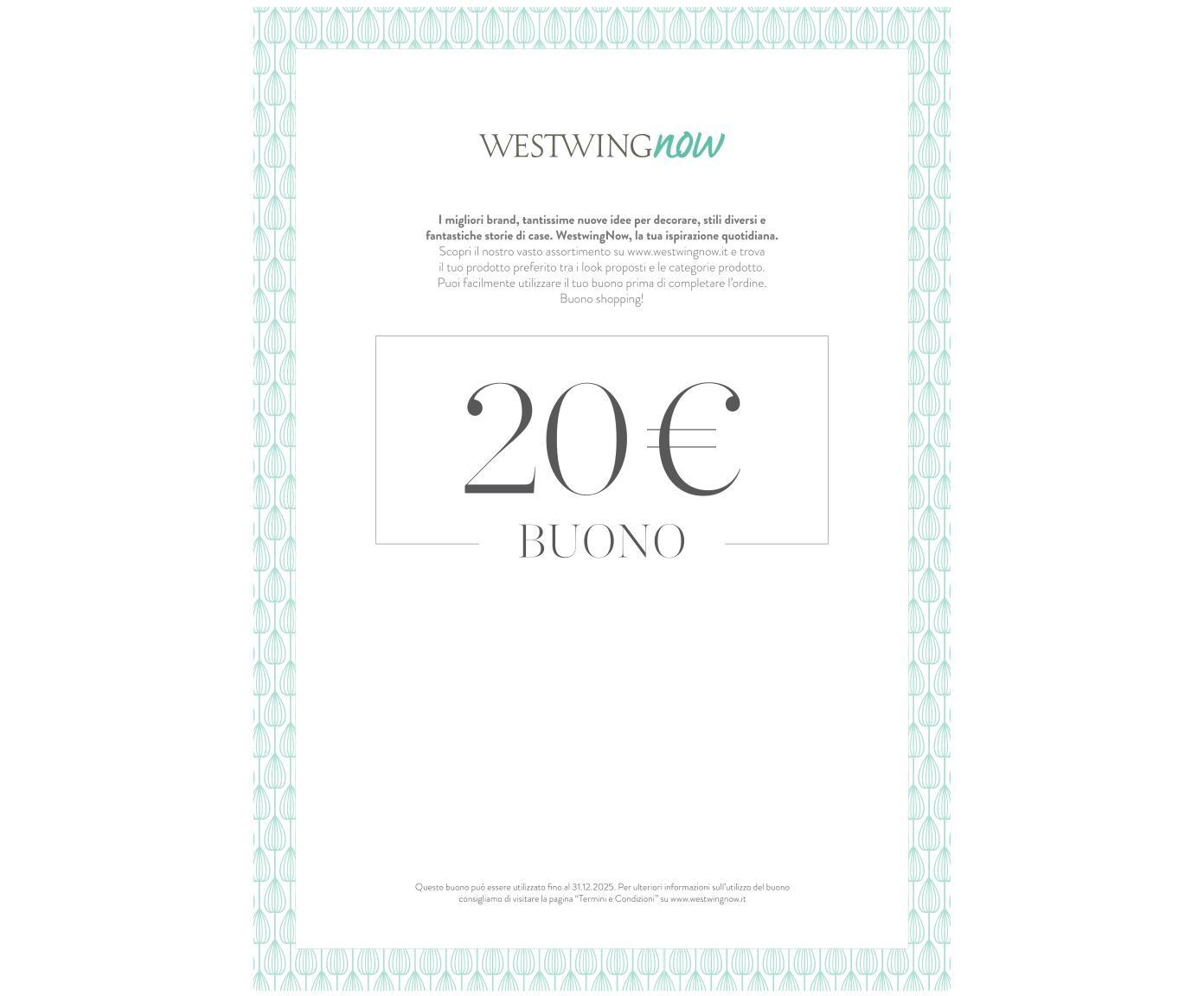 Buono regalo da stampare, Buono regalo digitale, dopo aver ricevuto il pagamento riceverai una e-mail con il link al tuo buono regalo. Basta salvare il file PDF e stamparlo, Multicolore, 20