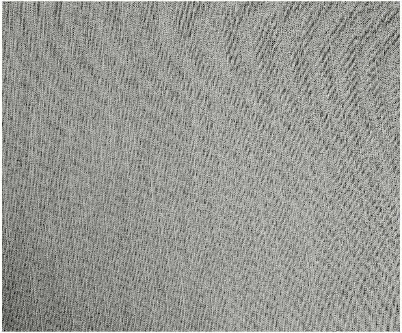 Sofa narożna Melva (3-osobowa), Tapicerka: poliester 35000 cykli w , Stelaż: lite drewno sosnowe, płyt, Nogi: drewno sosnowe, Szary, S 240 x G 144 cm