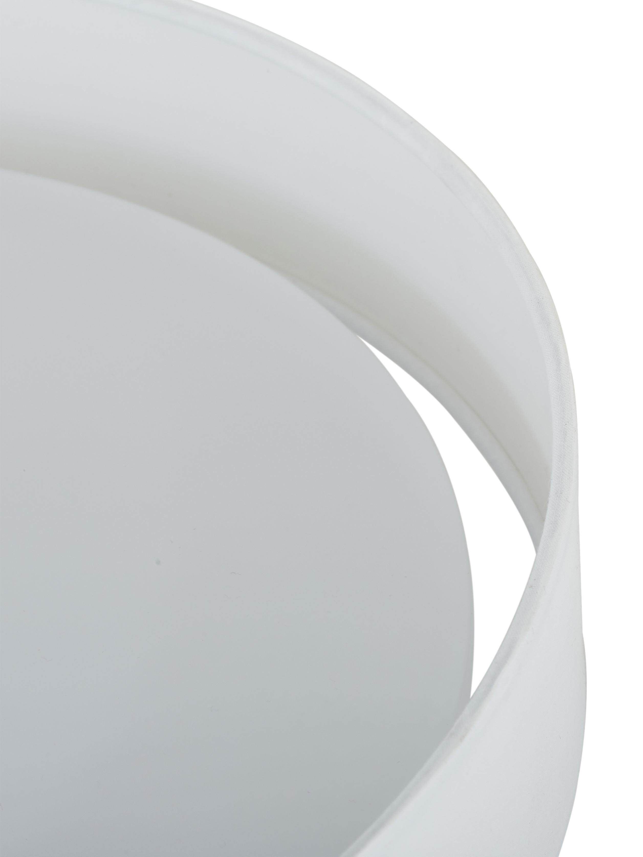 Plafoniera a LED Helen, Struttura: metallo, Bianco, Ø 52 x Alt. 11 cm