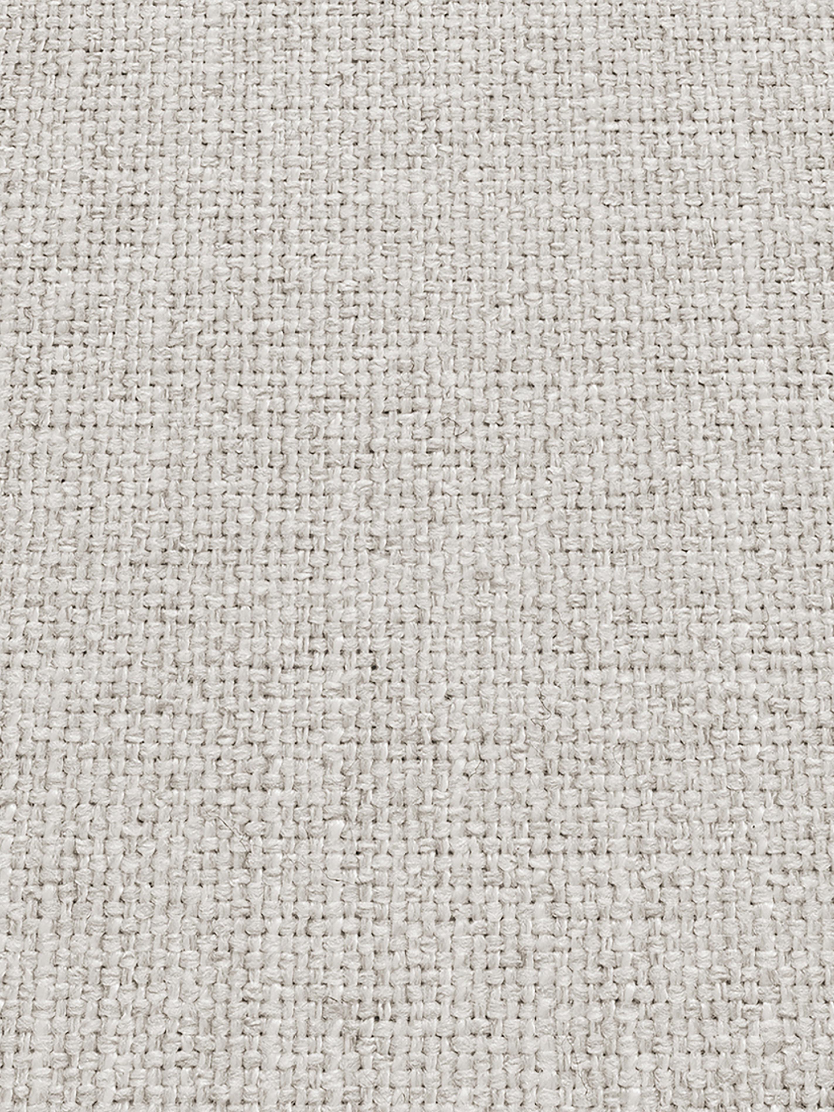 Divano angolare in tessuto beige Moby, Rivestimento: poliestere 60.000 cicli d, Struttura: legno di pino massiccio, Piedini: metallo verniciato a polv, Tessuto beige, Larg. 280 x Prof. 160 cm