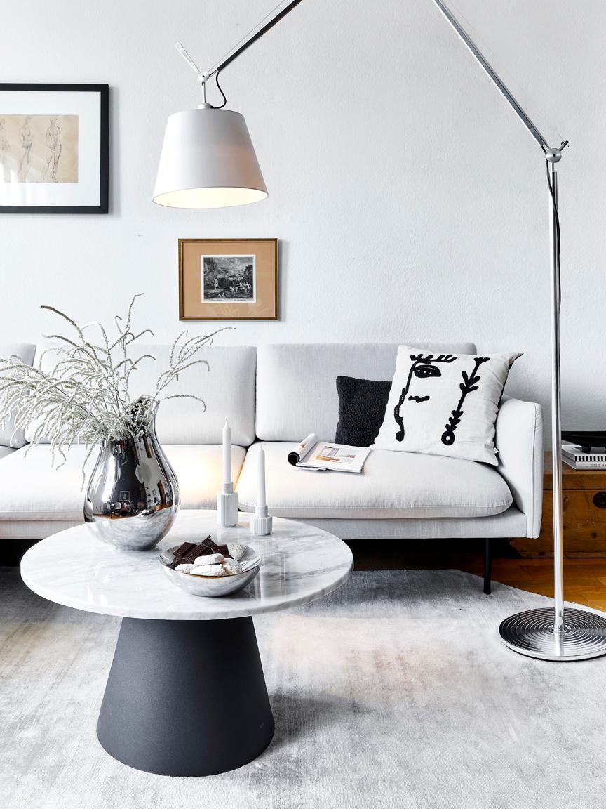 Ecksofa Moby, Bezug: Polyester Der hochwertige, Gestell: Massives Kiefernholz, Webstoff Beige, B 280 x T 160 cm