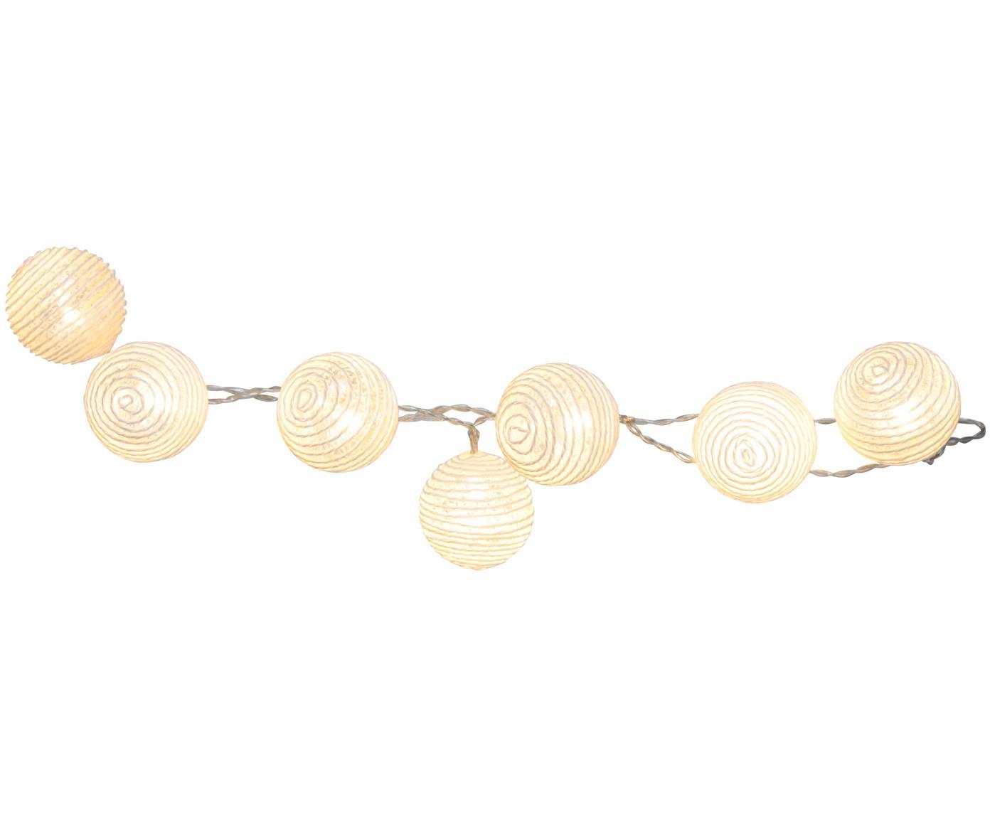 Girlanda świetlna LED Yarn, Biały, D 135 cm