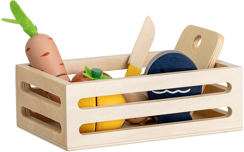 Set da gioco Foodbox 8 pz, Compensato, pannelli di fibra a media densità (MDF), rivestito, Multicolore, Diverse dimensioni