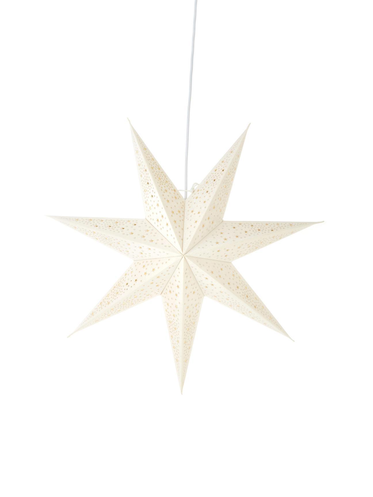 Stella natalizia Orby, Carta, Bianco, Ø 60 cm