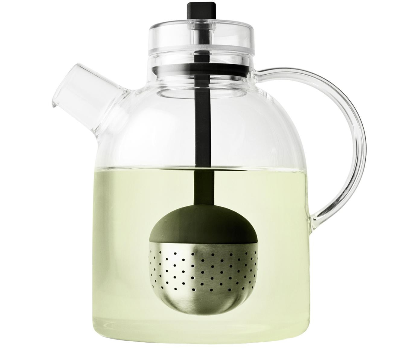 Teiera di design in vetro con colino Kettle, Brocca: vetro, Trasparente, 1.5 L