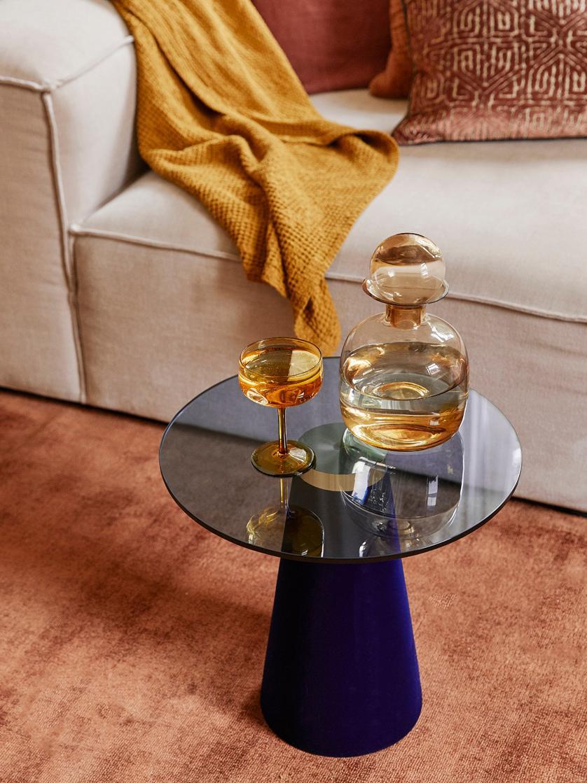 Caraffa in vetro Colored, Vetro, Ambra trasparente, 1 l