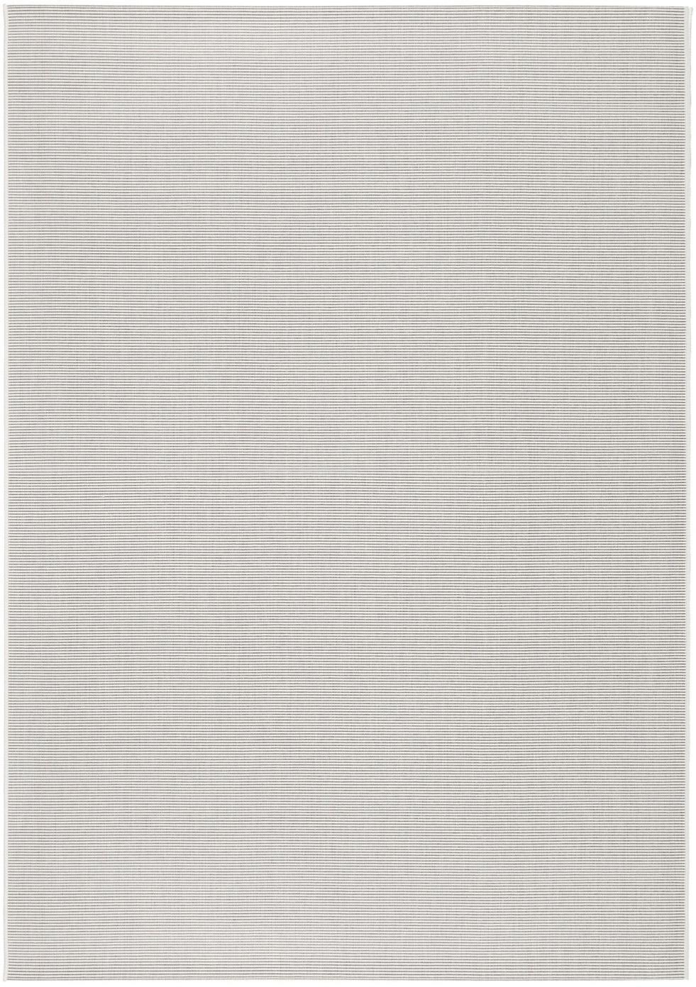Tappeto da interno-esterno Metro, Polipropilene, Bianco latteo, Larg. 200 x Lung. 290 cm (taglia L)