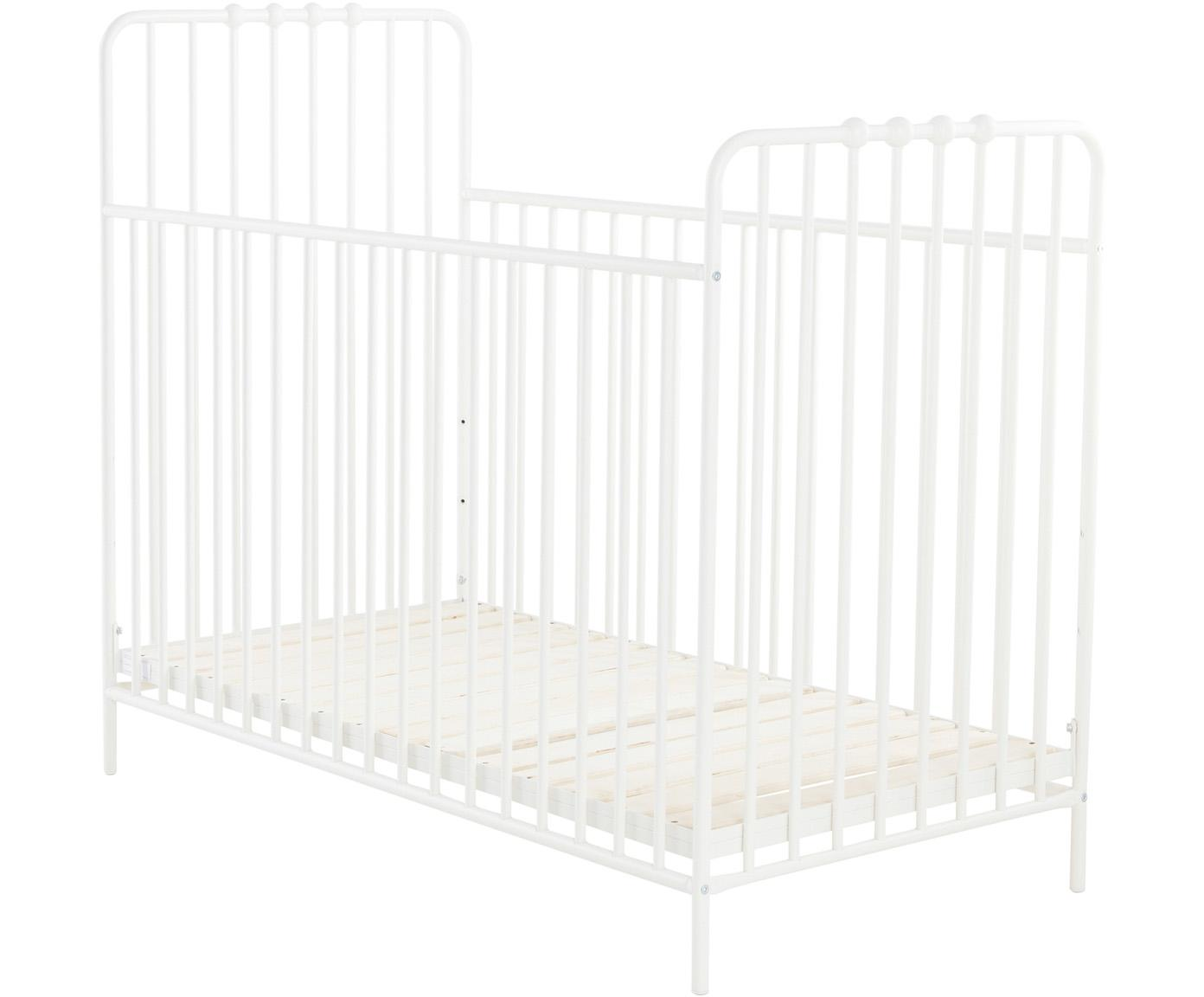 Baby-Bett Bexley, Weiß, 60 x 120 cm