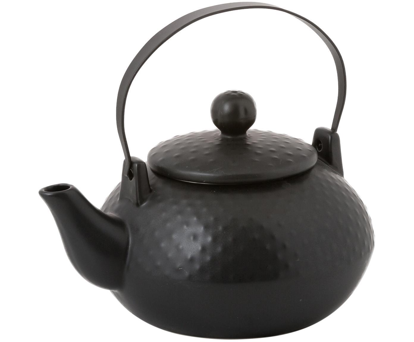 Servizio da tè, 6 pz., Nero, Diverse dimensioni