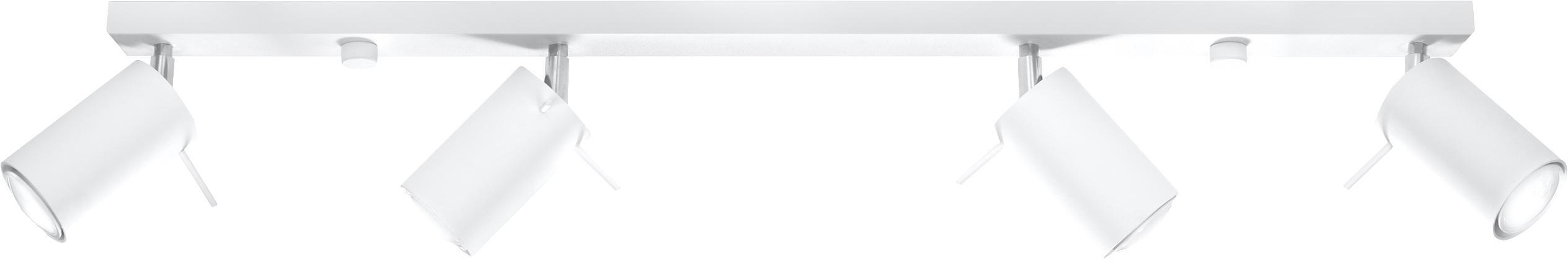 Riel Etna, Acero pintado, Blanco, An 81 x Al 16 cm