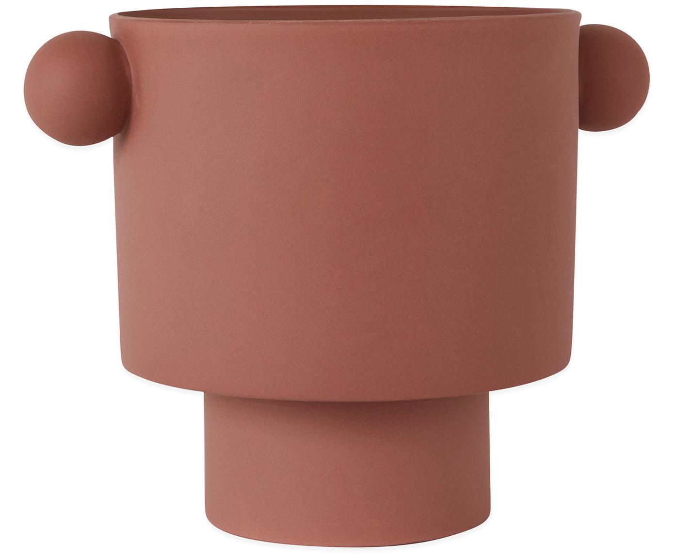 Ręcznie wykonana osłonka na doniczkę Ika Kana, Ceramika, Terakota, Ø 30 x W 23 cm