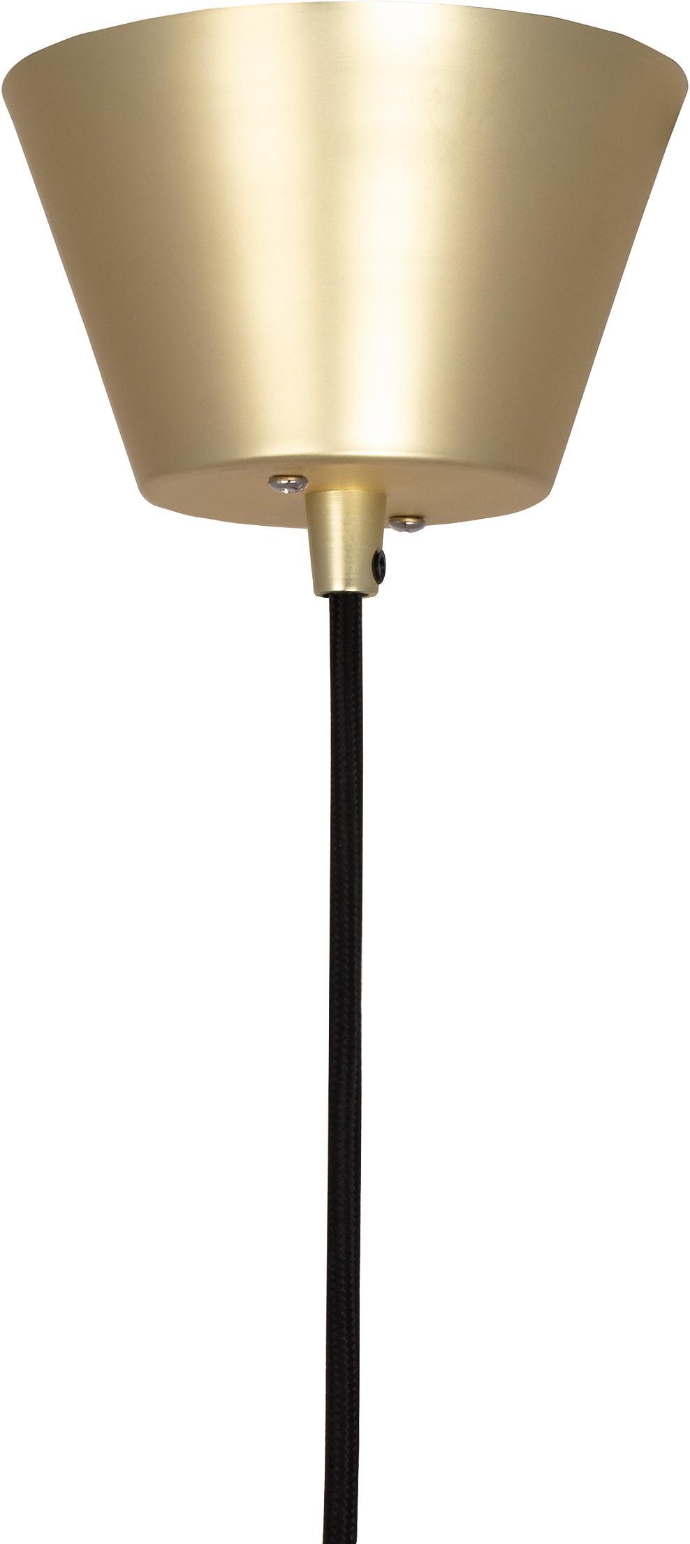 Lampa wisząca Ray, Odcienie mosiądzu, szczotkowany, Ø 45 x W 25 cm