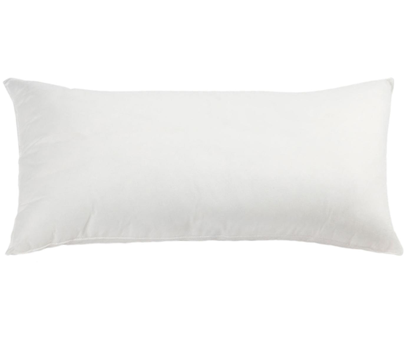 Binnenkussen Egret, 30x60, microvezel-vulling, Bekleding: kunstvezel, Wit, 30 x 60 cm