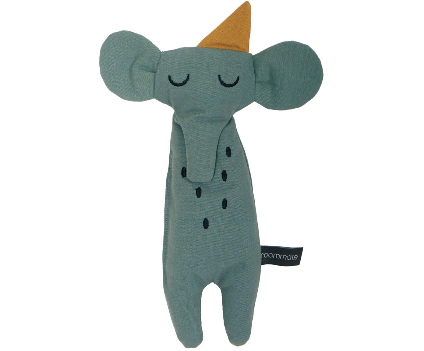 Peluche de algodón ecológico Elephant, Gris verdoso, An 8 x Al 30 cm