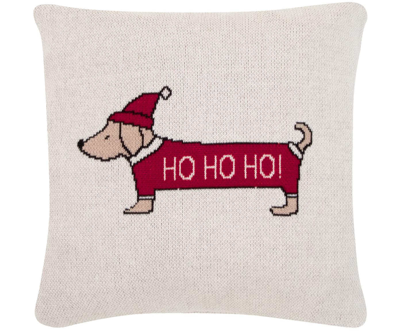 Funda de cojín Santas Little Helper, 100%algodón, Multicolor, An 40 x L 40 cm