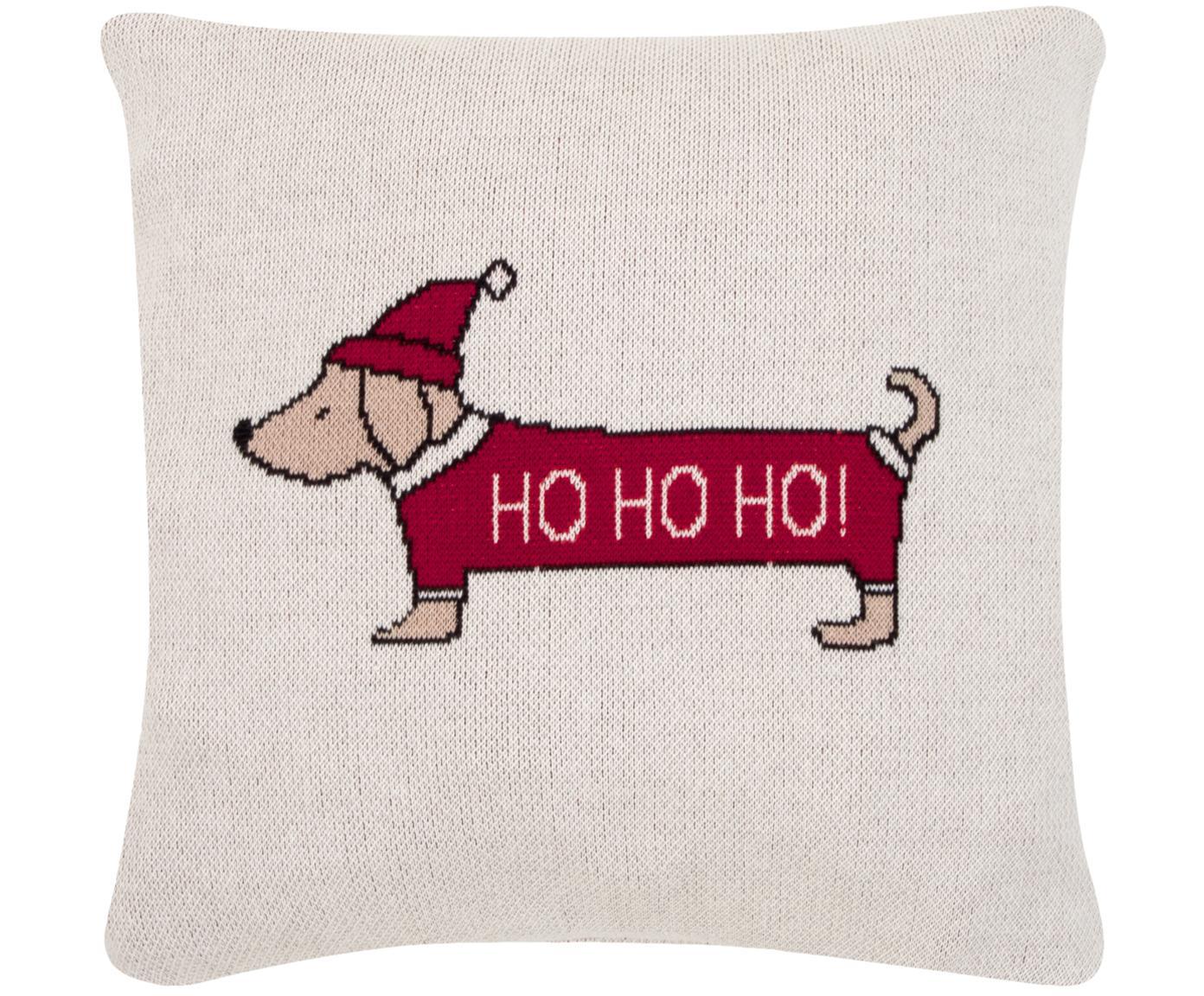 Poszewka na poduszkę ze skóry Santas Little Helper, 100% bawełna, Wielobarwny, S 40 x D 40 cm