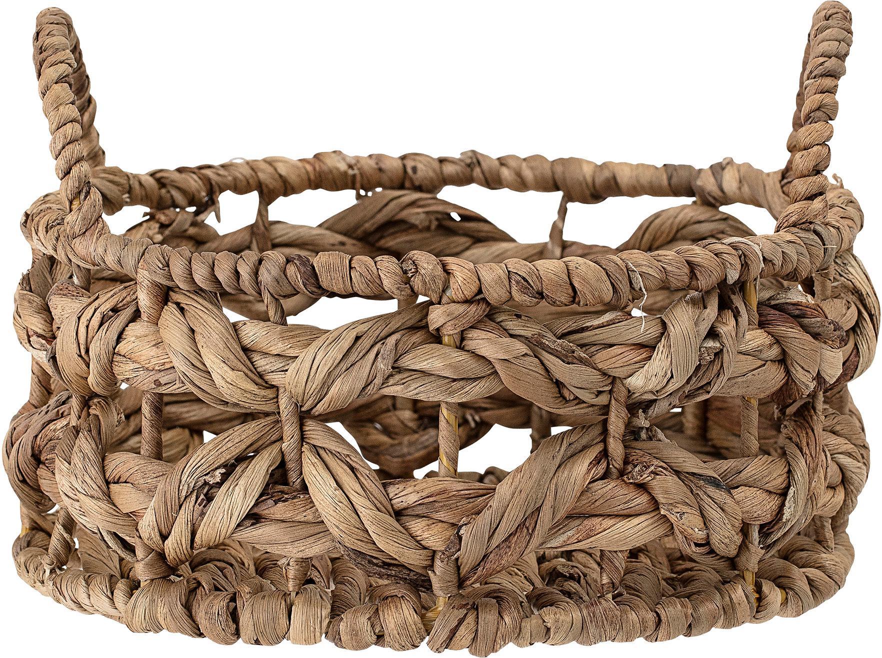 Cesta per il pane Hyazinth, Struttura: metallo, Marrone, Ø 24 x A 10 cm