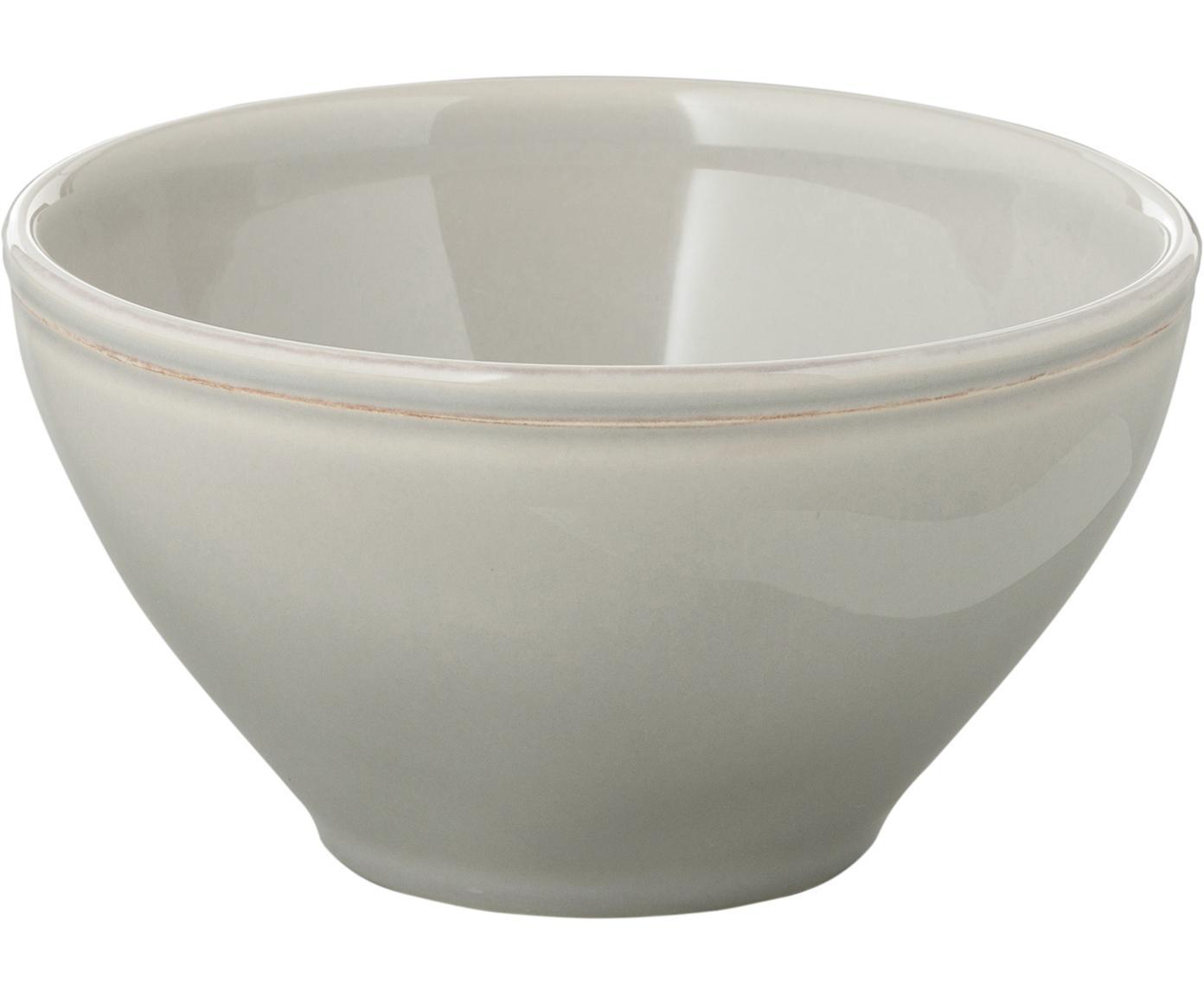 Miska Constance, 2 szt., Ceramika, Jasnoszary, Ø 15 x 9 cm