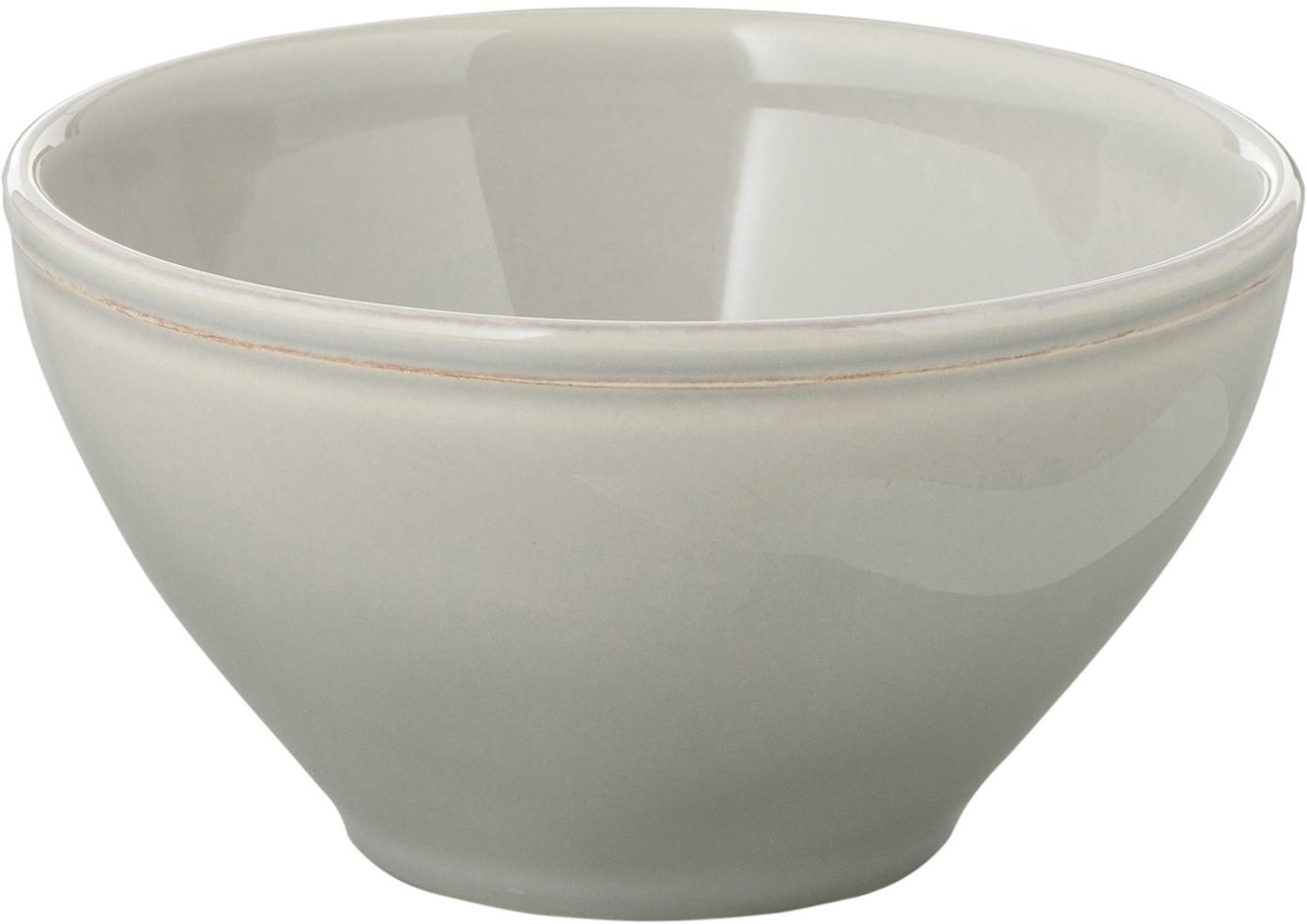Ciotolina in grigio chiaro Constance 2 pz, Ceramica, Grigio chiaro, Ø 15 x Alt. 9 cm