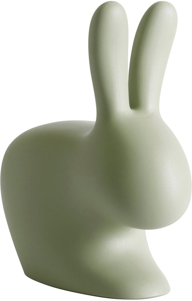 Kinder-Hocker Rabbit, Kunststoff (Polyethylen), Grün, 46 x 53 cm
