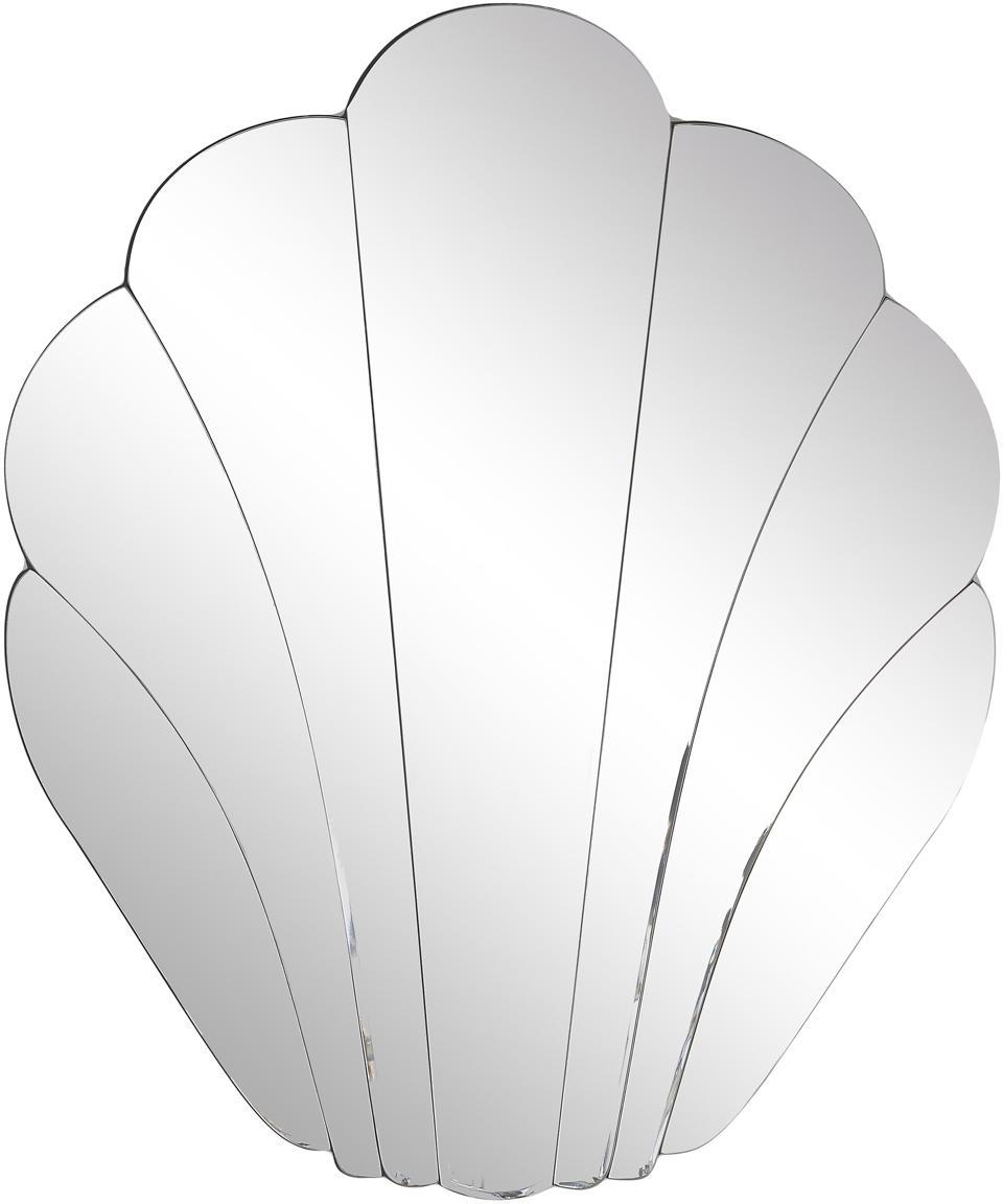 Specchio da parete Helix, Superficie dello specchio: lastra di vetro, Retro: pannello di fibra a media, Superficie dello specchio: lastra di vetro, Larg. 50 x Alt. 60 cm